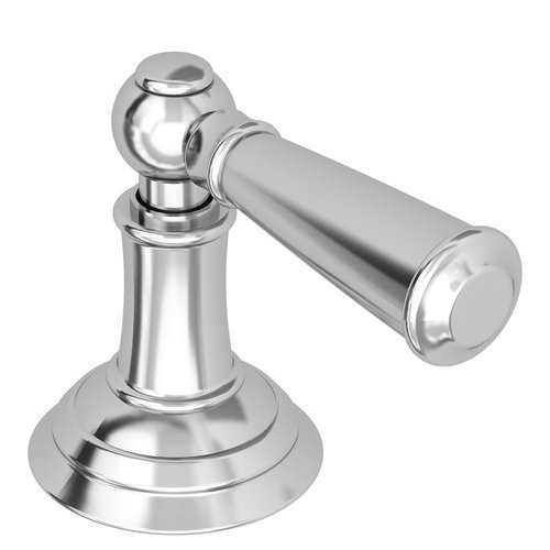 1 Handle Metal Lever With Escutcheon Polished Chrome