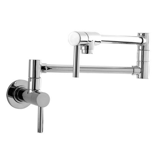 1 Handle Lever Wall Mount Pot Filler *CONTEM Polished Chrome