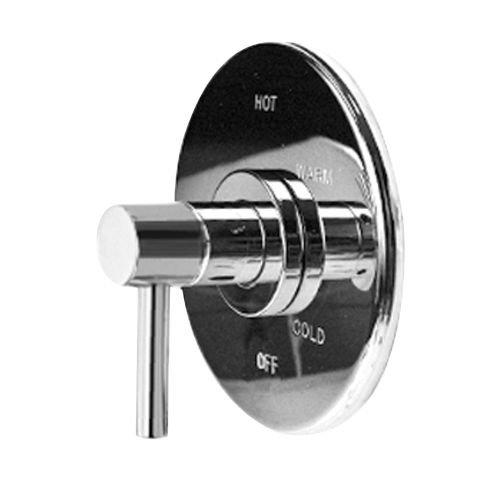 1 Handle Pressure Balance Shower Trim Plate Less Head and Flange Polished Chrome