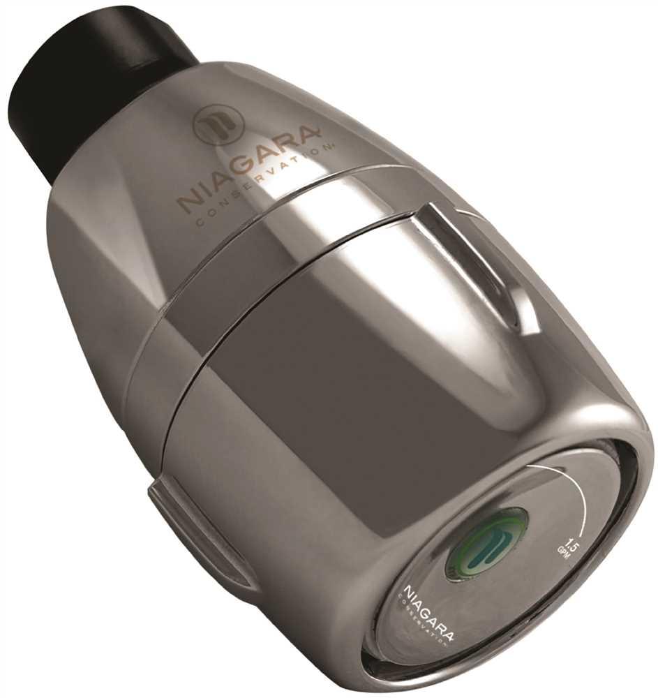 Niagara 1.0/1.5 Gpm Bi-Max High Efficiency Adjustable Showerhead, Chrome