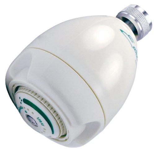 NIAGARA SHOWER HEAD 9 JET ADJUSTABLE MASSAGE WHITE 1.5 GPM