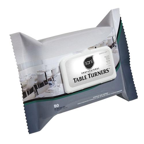 Sani-Professional Brand TableTurners, 12 Packs