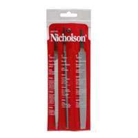 Nicholson 22015N  File Sets, 3-Piece, 6 Inch Length