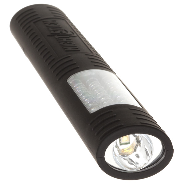 NightStick MultiPurpose NonRechargeable DualLight Black 2 AA Battieries