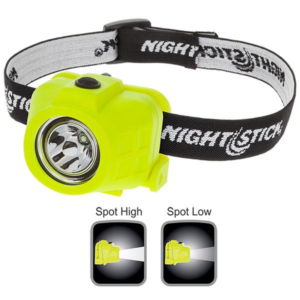 NightStick Intrinsically Safe DualFunction Headlamp  Green