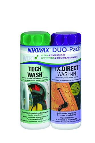 Nikwax Tech Wash/TXD Wash Duo-Pack