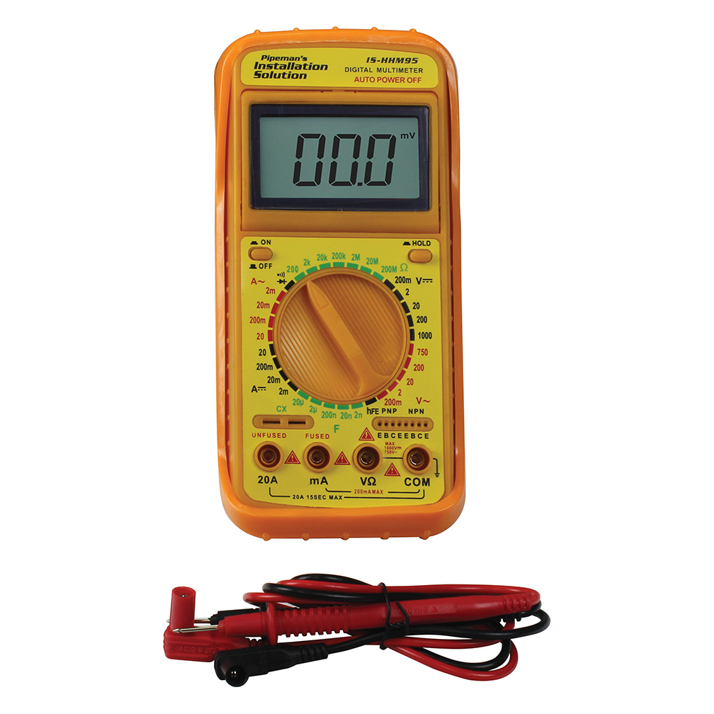 Installation Solutions Voltage Tester with temperature measurement