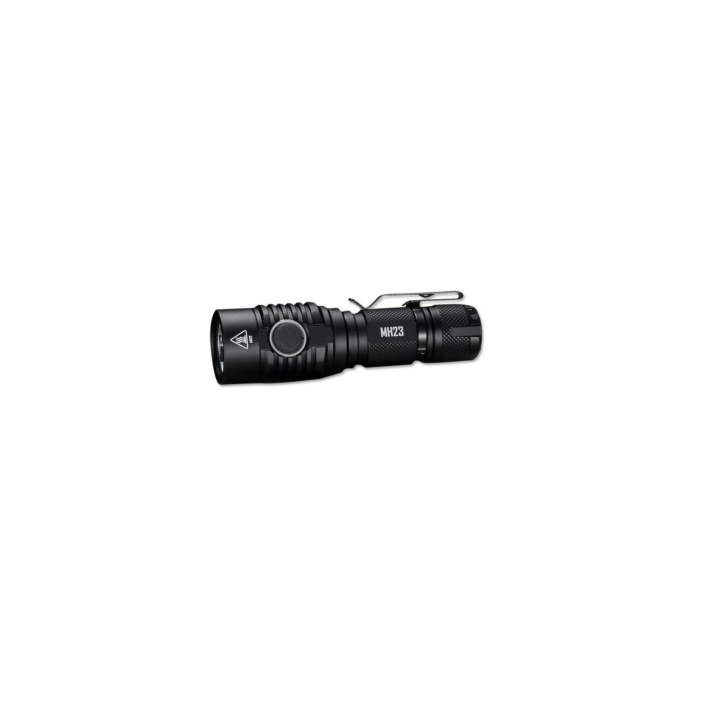 Nitecore MH23 USB Rechargeable Flashlight Black