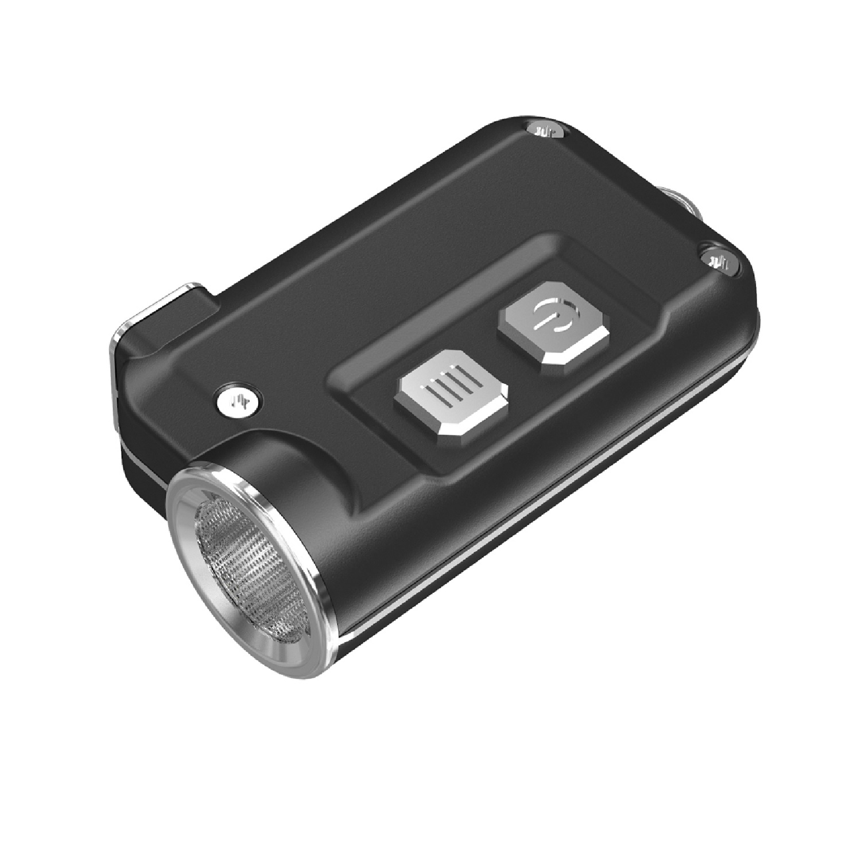Nitecore TINI 380 Lumen USB RCHRGBL LED Keychain Light Gray