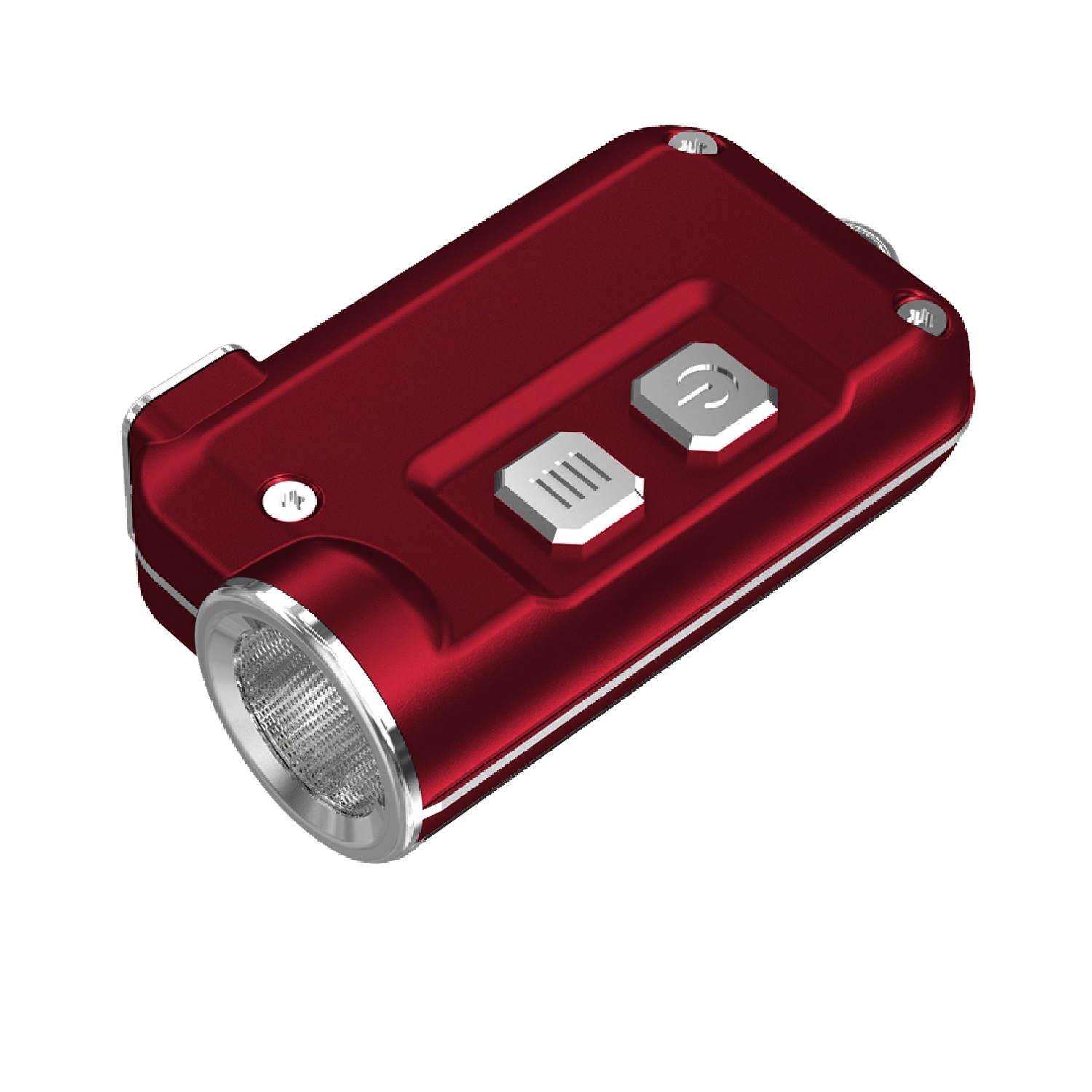 Nitecore TINI 380 Lumen USB RCHRGBL LED Keychain Light Red
