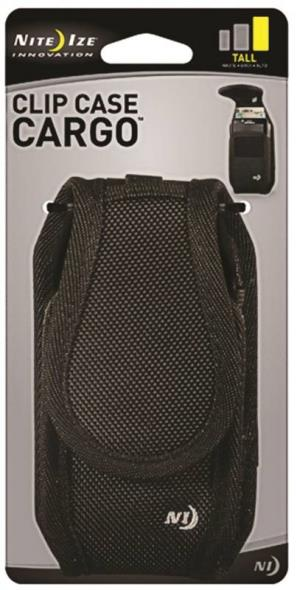 Nite Ize CCCT-03-01 Clip Case Cargo Holster, 2.75 oz Hook and Loop Closure, 3 oz Magnetic Closure