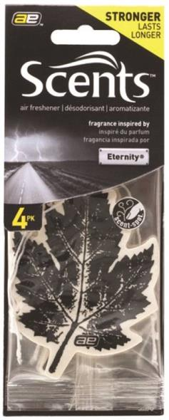 Leaf Scent NOR53-4P Automotive Air Freshener