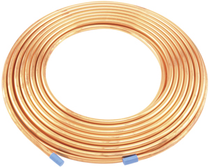 "No Logo 6363206859800 Copper Refrigeration Tubing, 50ft Roll (3/8"")"