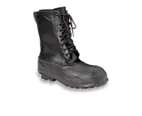 "Norcross Servus+ Size 11 Servus+ 10"" Black Insulated Steel Toe Leathertop Pac Boot"