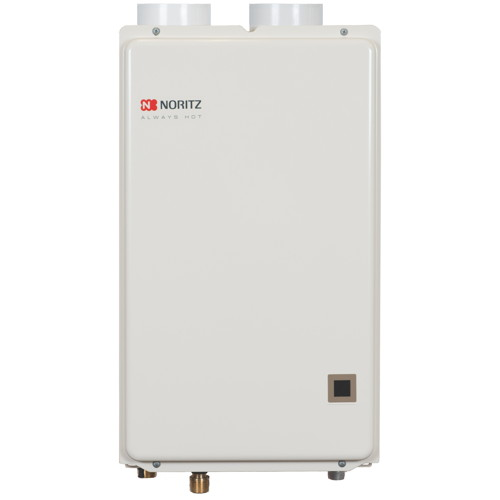 NORITZ TANKLESS WATER HEATER, RESIDENTIAL, NATURAL GAS, DIRECT VENT, CONDENSING, 7.11 GPM