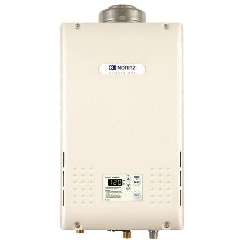 NORITZ TANKLESS WATER HEATER 9.8 GPM NATURAL GAS CONCENTRIC VENT