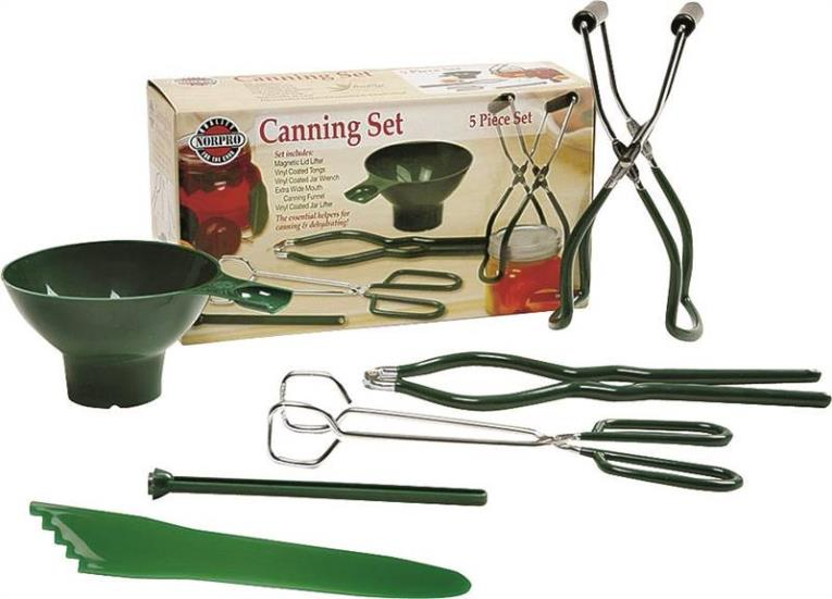 JAR CANNING SET VINYL 6 PC