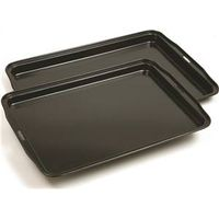Norpro 3996 Non-Stick Jelly Roll Baking Pan 17 in L x 11 in W x 3/4 in H, Steel