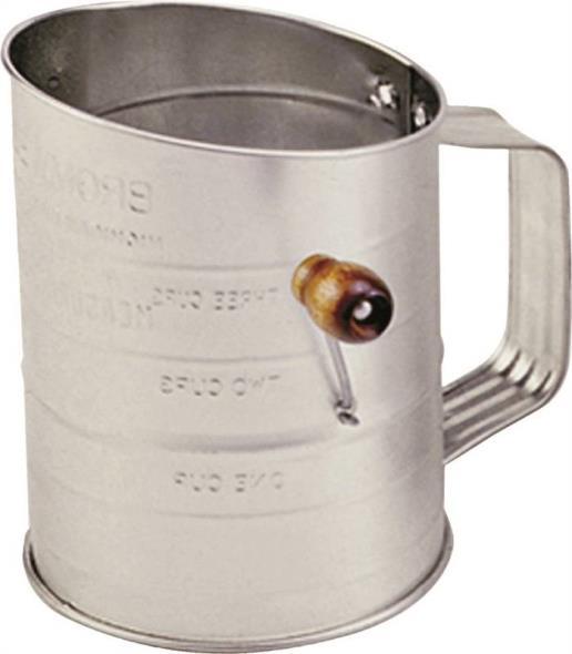 SIFTER TIN CRANK 3 CUPS