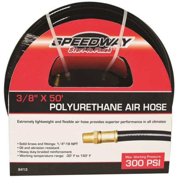 3/8X50Ft Pu Air Hose 300Psi