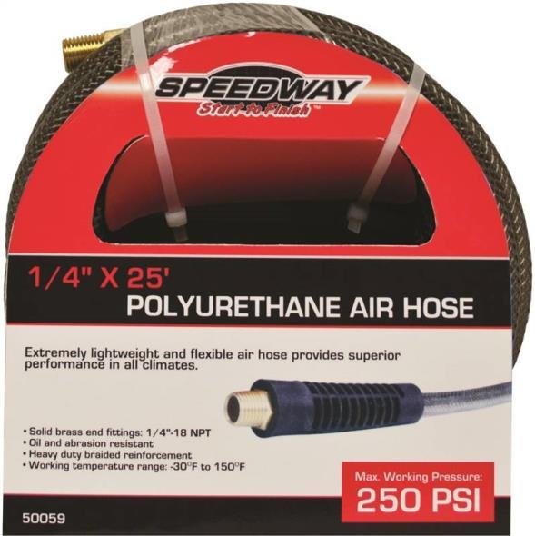 1/4X25FT PU AIR HOSE SPEEDWAY