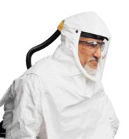 North+ Primair+ Plus Tyvek Hood Assembly With Bib For Use With Compact Air PAPR
