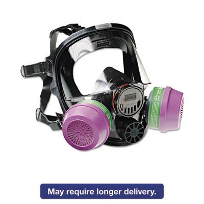 7600 Series Full-Facepiece Respirator Mask, Medium/Large