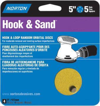 02207 5X5 80 HOOK & SAND DISC
