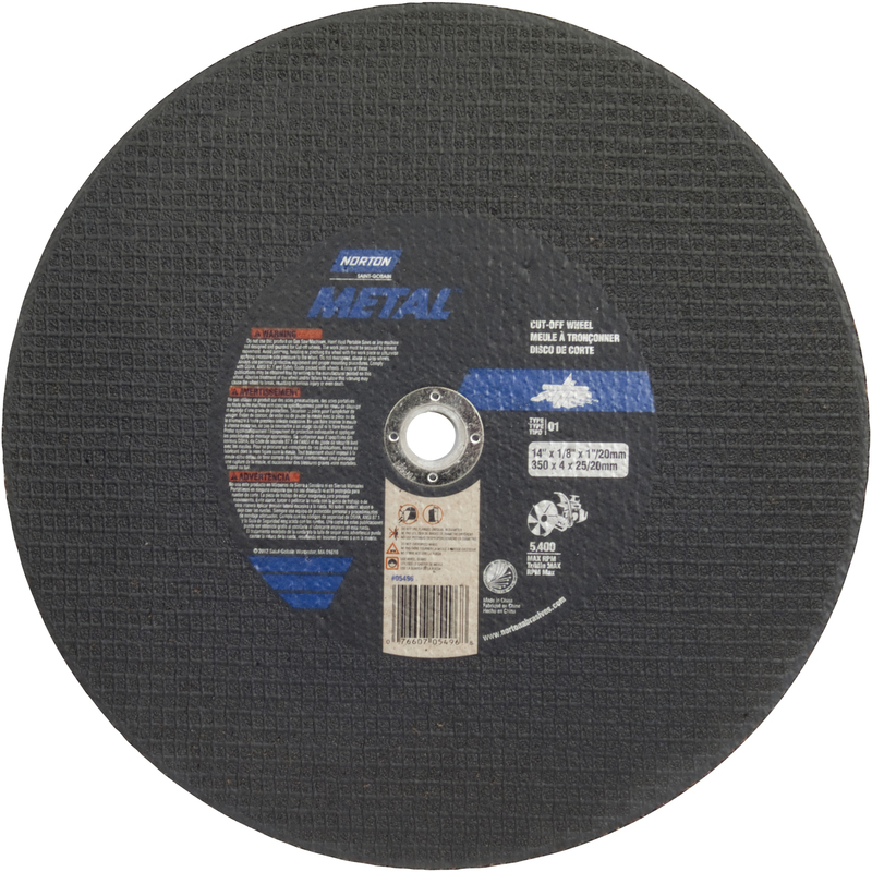 05496 14 IN. X 1/8 IN. CUT-OFF BLADE