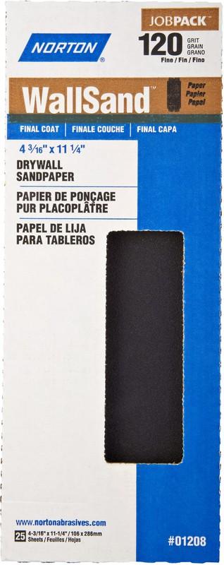 01208 4X11 120D SANDPAPER