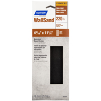 Norton 02049 Drywall Sanding Screen Paper, 11-1/4 in x 4-3/16 in, 220 Grit