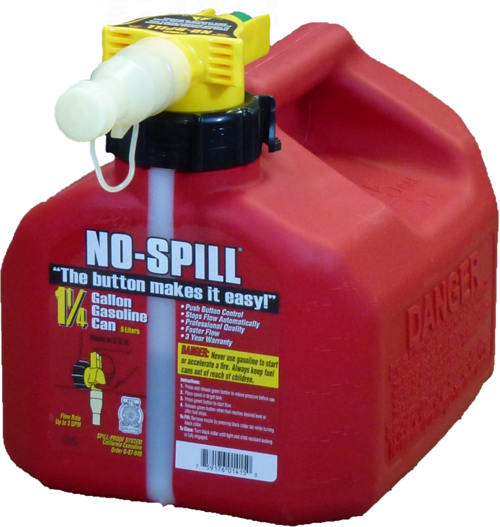 1415 1-1/4G NO SPILL GAS CAN