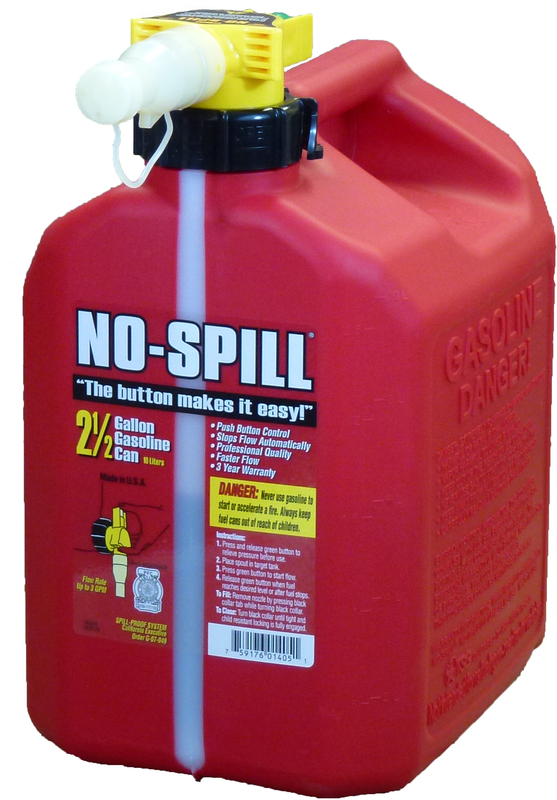 1405 2.5G NO SPILL GAS CAN