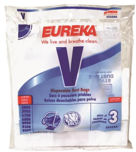 52358 Style V Disposable Dust Bags - (3 Bags Per Pack)