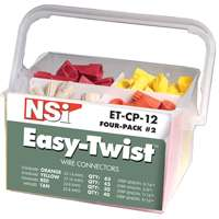 Easy-Twist ET-CP-12 Combination Wire Connector Pail, Thermoplastic