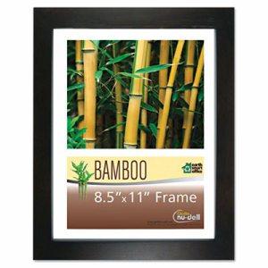 Bamboo Frame, 8 1/2 x 11, Black