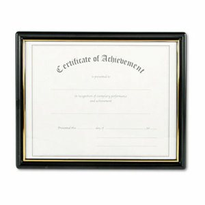 Framed Achievement/Appreciation Awards, Two Designs, Letter
