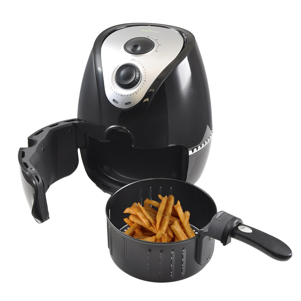NUTRICHEF PKAIRFR22 ELECTRIC AIR FRYER FOR OIL FREE FRYING