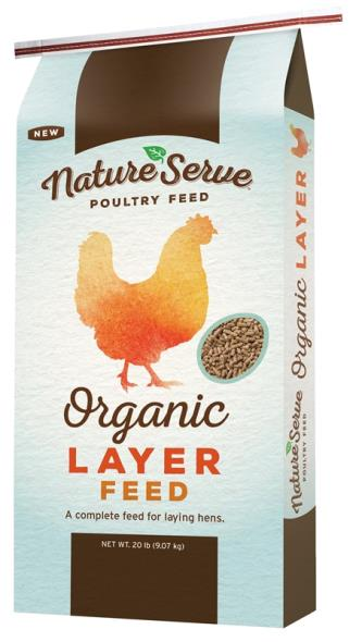 FEED POULTRY LAYER ORGNIC 20LB