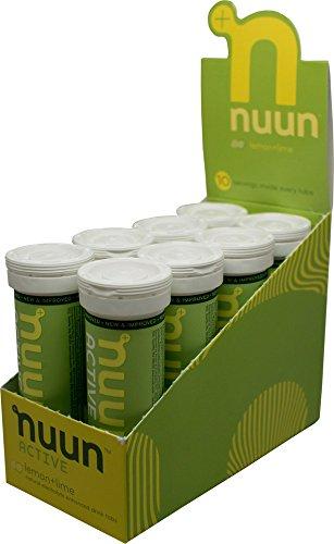 Nuun Active, 8 Tubes, Lemon Lime