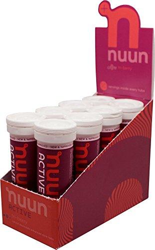 Nuun Active, 8 Tubes, Tri-Berry
