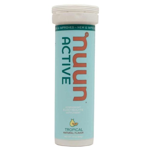 Nuun Active, 8 Tubes, Tropical Fruit