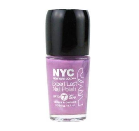 Nyc Expert Last Nail Polish, 255 Late Night Lilac Choose Your Pack