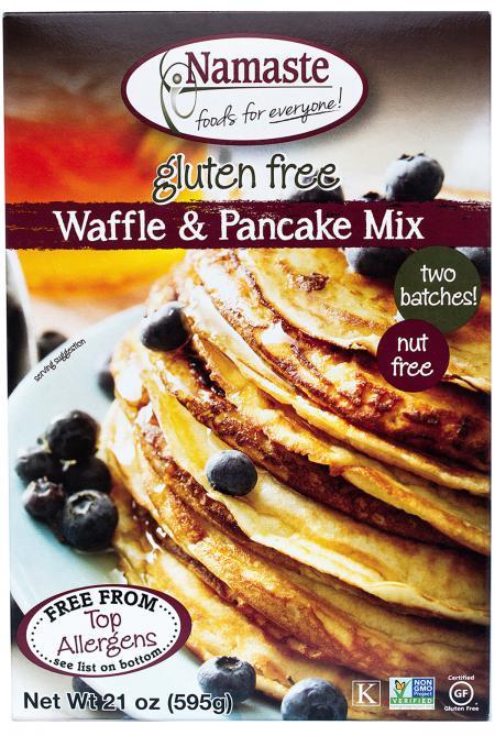 Namaste Waffle Pancake Mix Sugar Free (6x21 Oz)