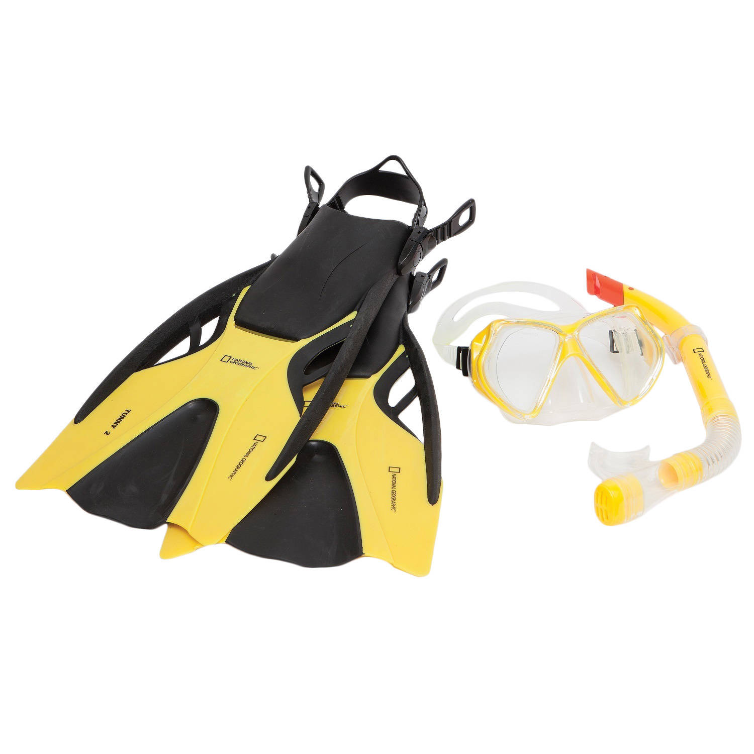 Natl Geographic Snorkeler Tunny 2 Set Yellow/Black ML/L 9-12