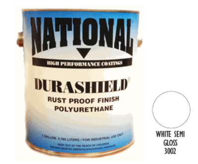 DURASHIELD RUST PROOF INDUSTRIAL ENAMELS - Semi Gloss White Gal