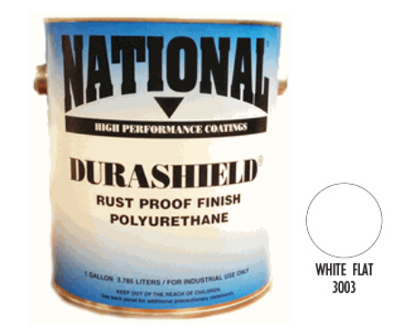 DURASHIELD RUST PROOF INDUSTRIAL ENAMELS - Flat White Gal