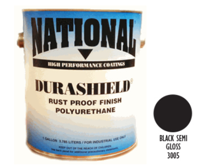 DURASHIELD RUST PROOF INDUSTRIAL ENAMELS - Semi Gloss Black Gal