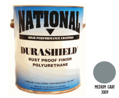 DURASHIELD RUST PROOF INDUSTRIAL ENAMELS - Medium Gray Gal