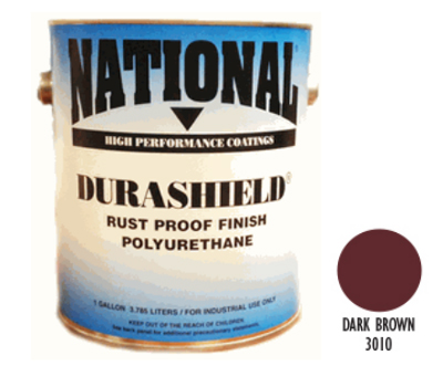 DURASHIELD RUST PROOF INDUSTRIAL ENAMELS - Dark Brown Gal